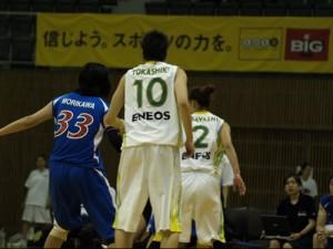 JXの渡嘉敷選手